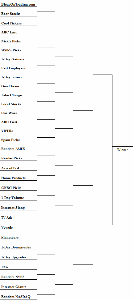 super stock pick tournament brackets