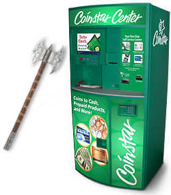 Get Cash (Not Gift Cards) At CoinStar Machines Without the Fee ...