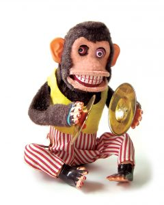 even a toy monkey knows the answers to these questions