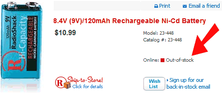 rechargeable 9-volt batteries are SOLD OUT WTF???