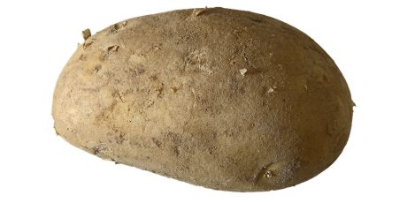 here is a potato, for your viewing pleasure