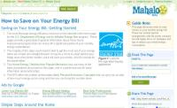 mahalo.com energy guide