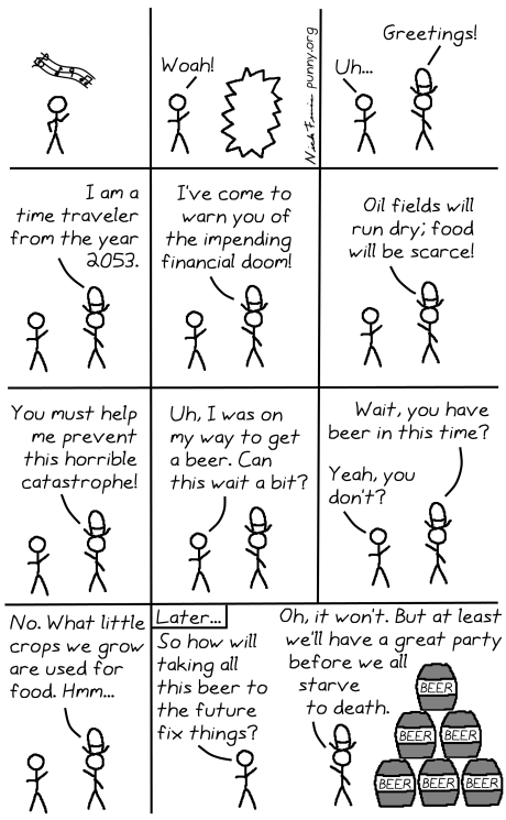 comic 31 - financial time traveler