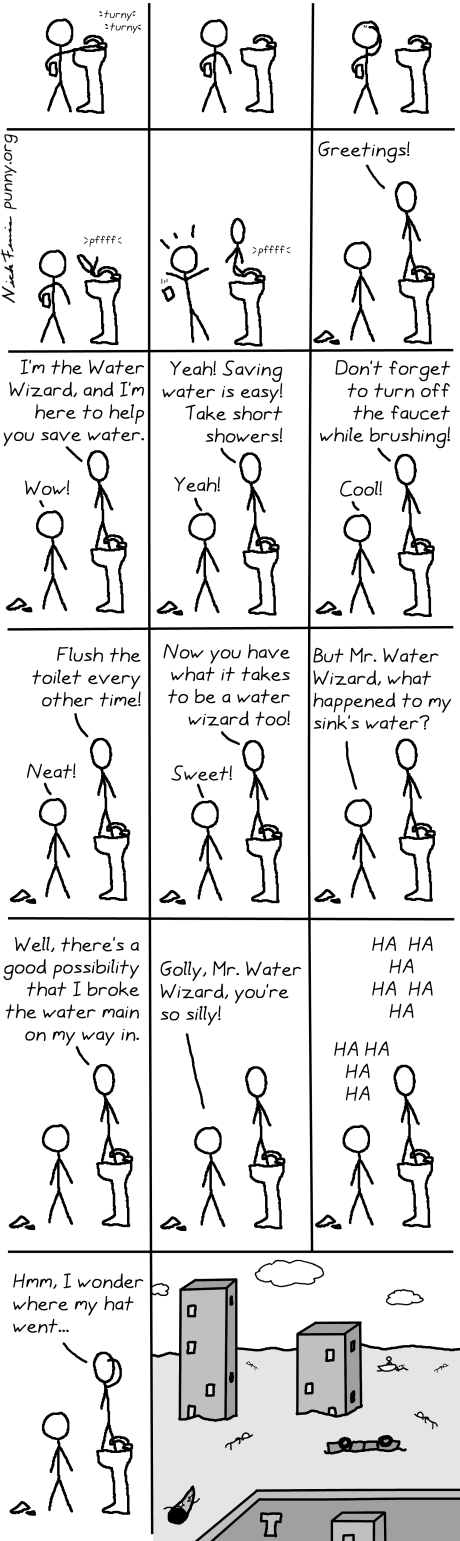 comic 37 - water wizard